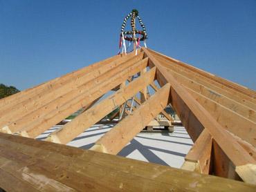 10. Woche: Dachstuhl