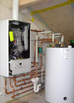 Energieeffizienz durch Gas-Brennwerttechnik